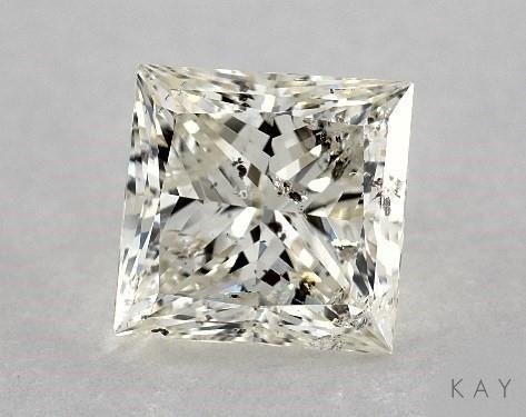 b54c8d6ef 1.51 Carat J-I1 Very Good Cut Princess Diamond - Kay Jewelers