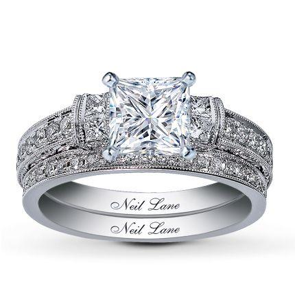 Neil lane bridal setting 34 ct tw diamonds 14k white gold kay neil lane bridal setting 34 ct tw diamonds 14k white gold junglespirit Gallery