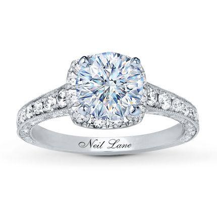d63431d02 Neil Lane Ring Setting 5/8 ct tw Diamonds 14K White Gold - Kay Jewelers
